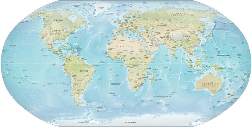 বিশ্ব মানচিত্র